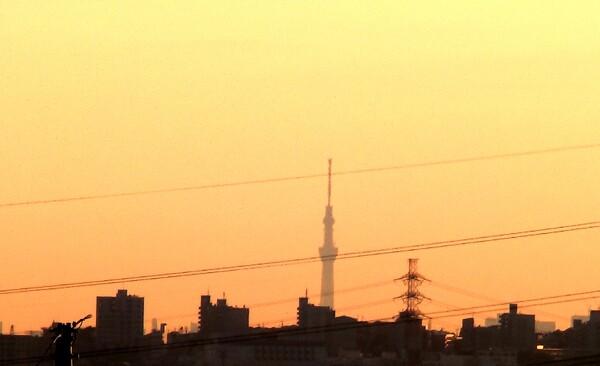 久々に東京スカイツリー