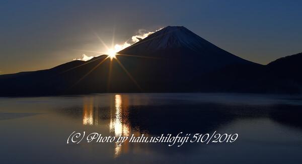 湖上の輝き
