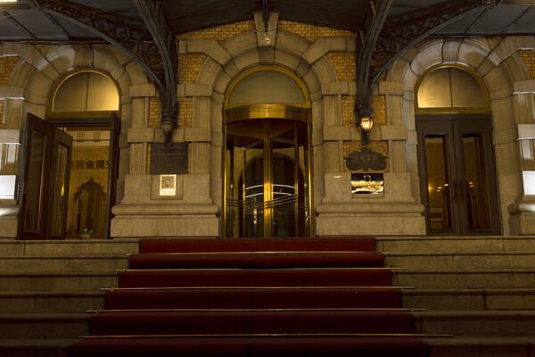 ヤマトホテル玄関