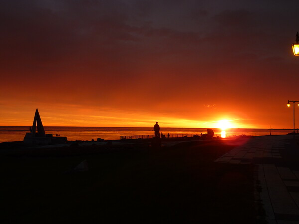 最北端の日の出