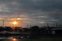【夕日】のクロス