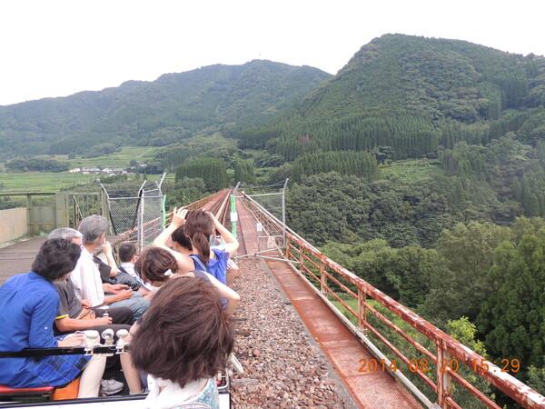 元高い橋梁