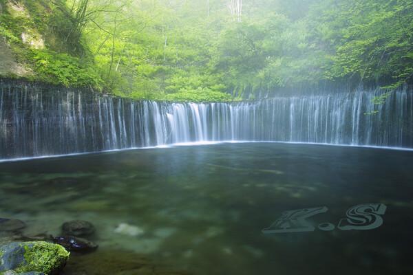 【フリー】 軽井沢の白糸の滝