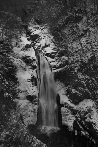 雪の秋保大滝 Ⅰ
