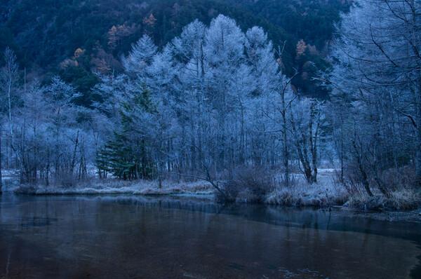 田代池の朝