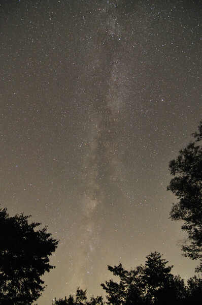 銀河の【広がり】