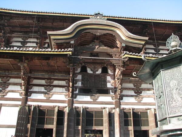 奈良 東大寺偉容