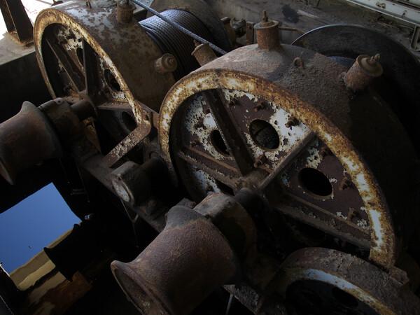 【美】働く老機械