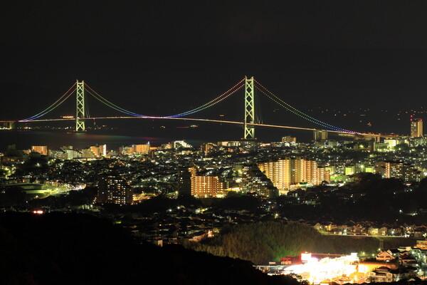 明石海峡夜景2