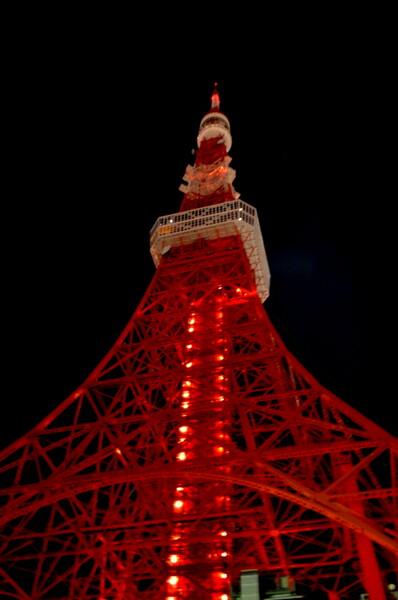 19時30分東京タワー消灯風景