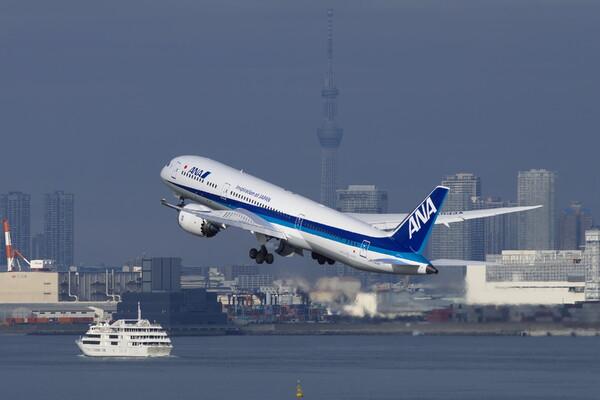 羽田空港にて試し撮り