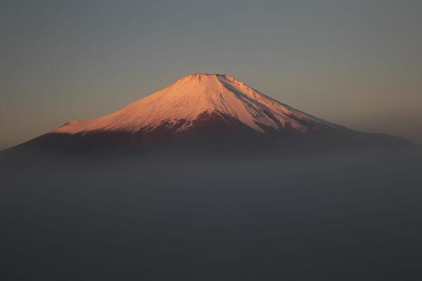 紅富士近景