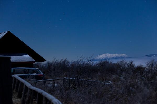 凍てつく夜の御嶽山
