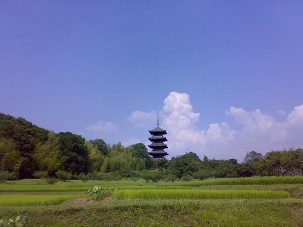五重塔ためし撮り