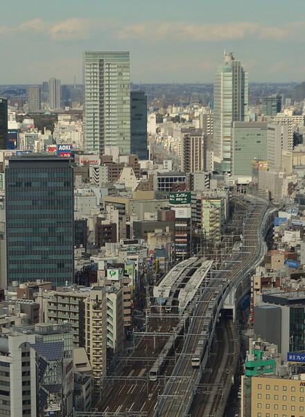 上野東京ライン試運転列車