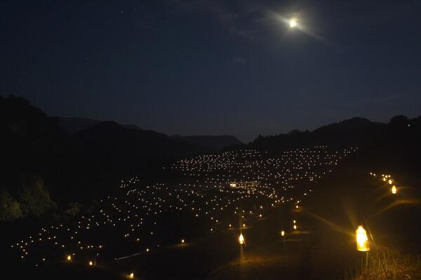 大蔵村 ほたる火コンサート