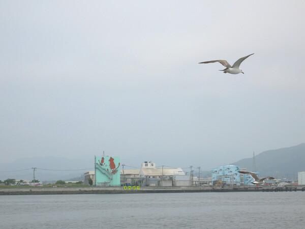 気仙沼港タンク