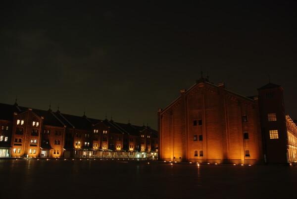 ヨコハマ赤れんが倉庫(夜景)