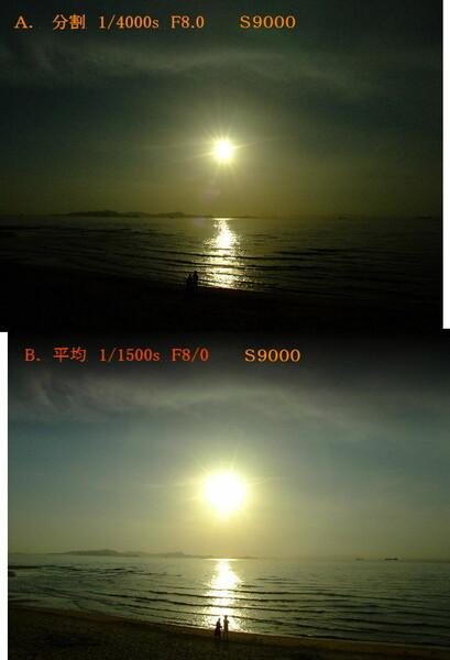 S9000 測光モードA&B