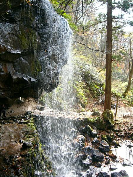 岩井滝から