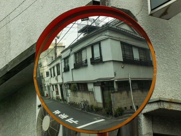 【円】カーブミラー