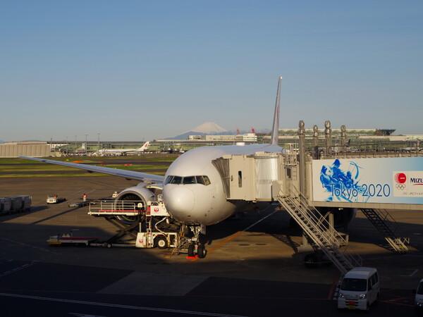 4/28出発前・羽田空港