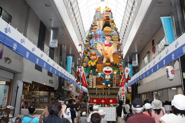 博多祇園 飾り山