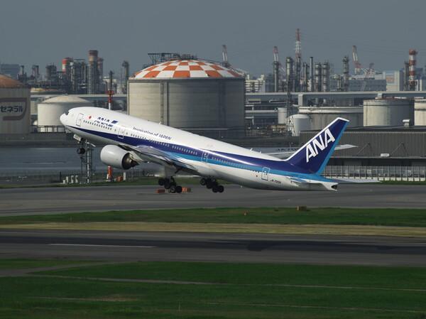 朝の羽田16R離陸便