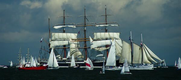 Sailers in Gdynia