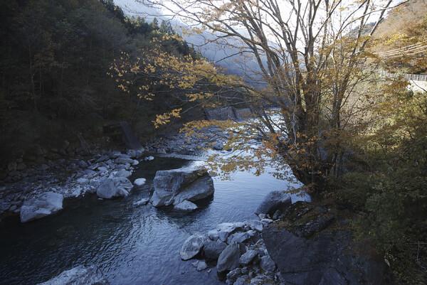 祖谷川砂防ダム