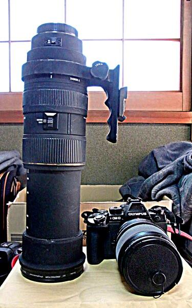【道具】 超望遠 鳥の撮影用 1