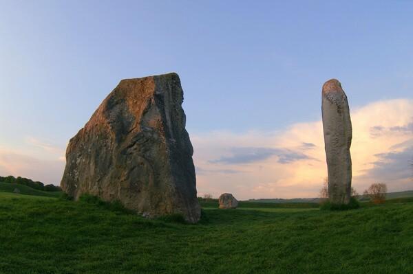 夕映えの巨石文明