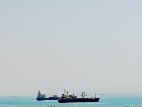 【ときめきBLUE】船と海
