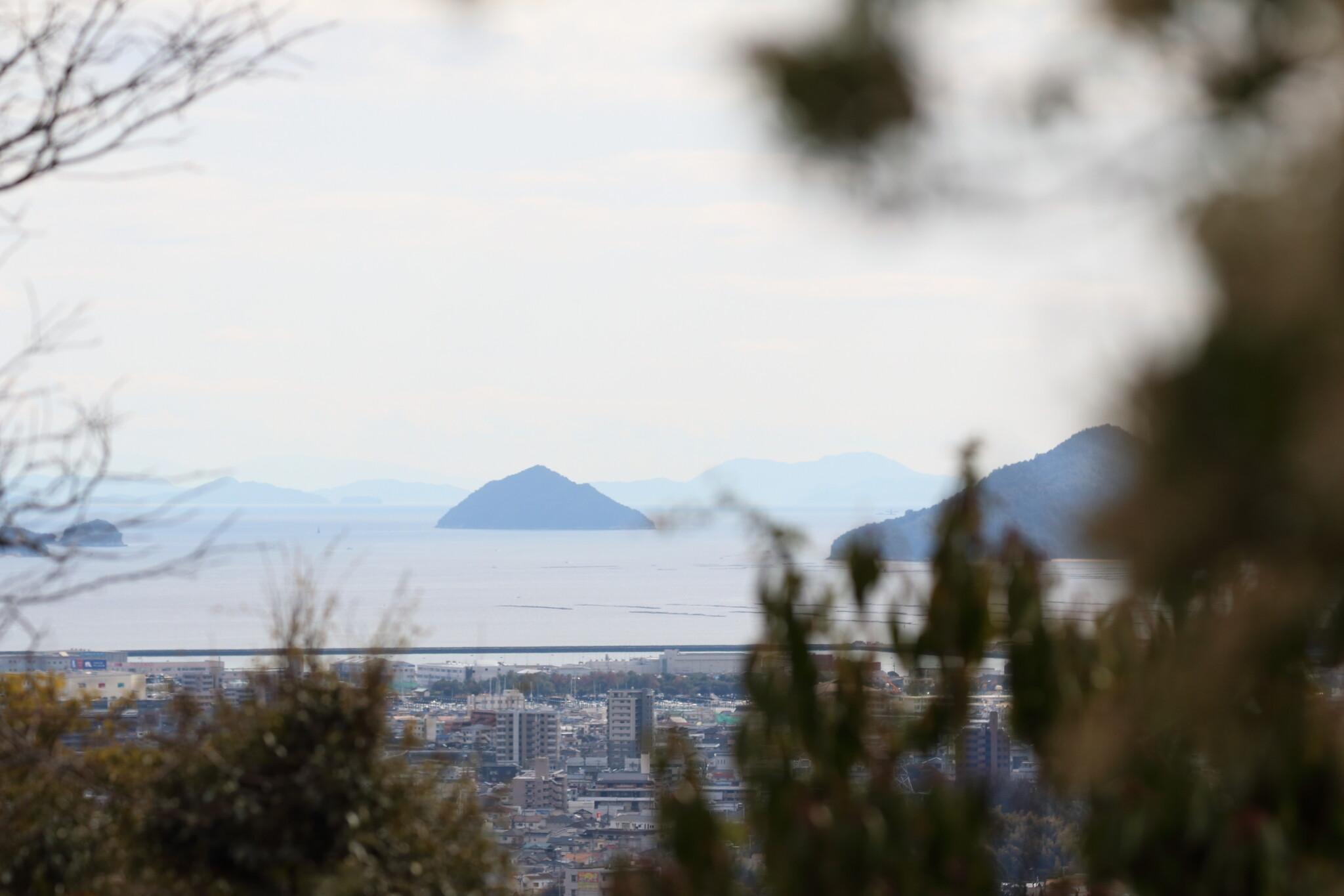 広島市植物公園からの眺望