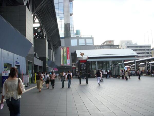京都の駅前