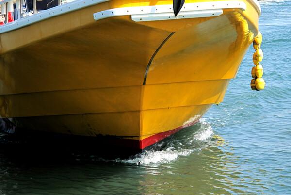 [淡彩]釣り船