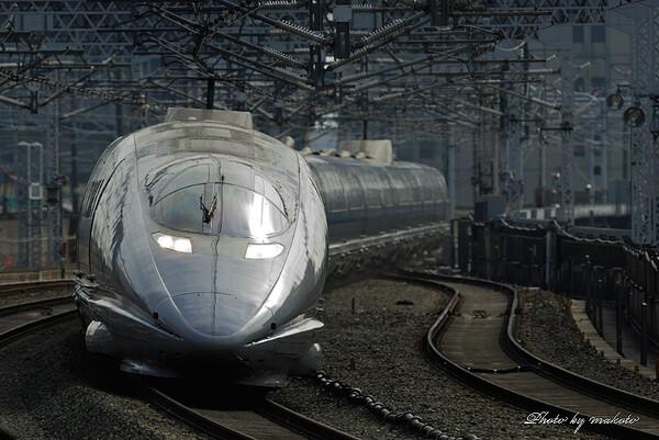浜松駅にて500系を・・・