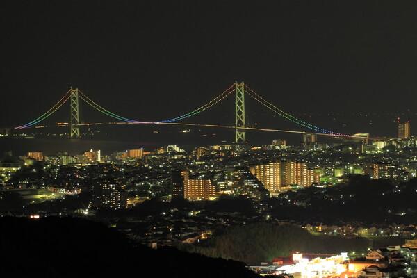 明石海峡夜景