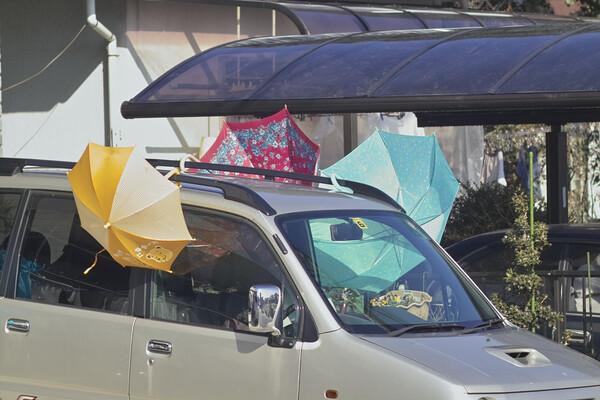 「街」 親子傘