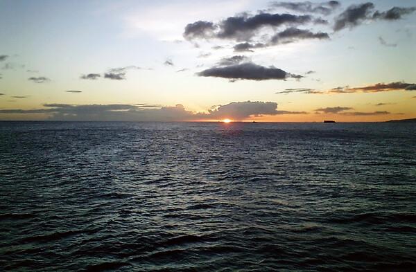 【逆光】ソラリスの海
