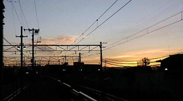 電車の窓から