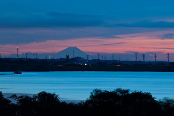 富士山、鉄塔、スカイツリー