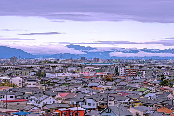 【好きなもの 町景】山を見る