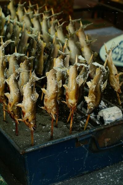 鮎の塩焼き(テスト)