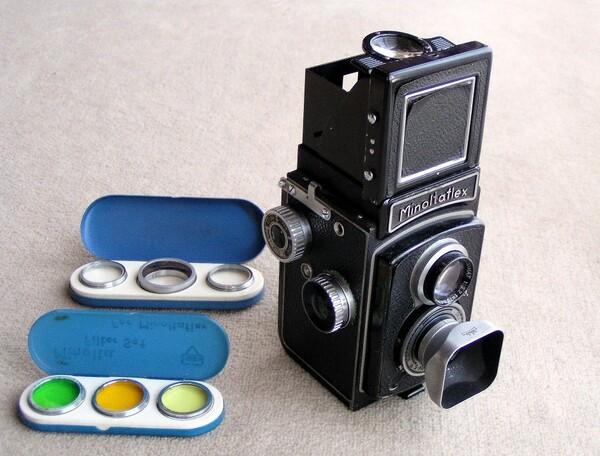 大仏を撮影したカメラ