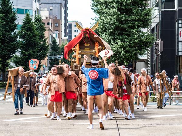 【歓】那古野神社天王祭(神輿渡御)