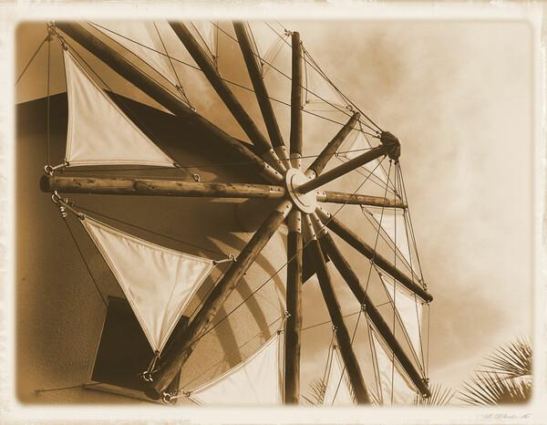牛窓の風車
