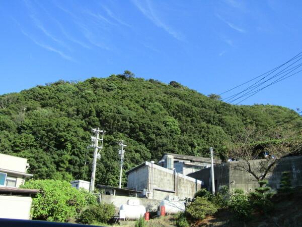 鳴門海岸住宅街は日本晴れ