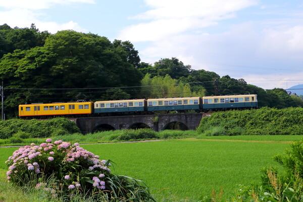三岐鉄道 眼鏡橋