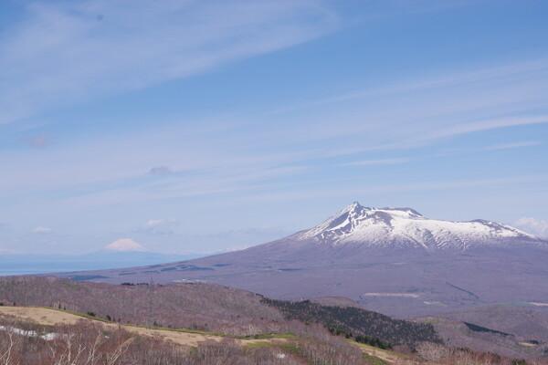 渡島富士と蝦夷富士
